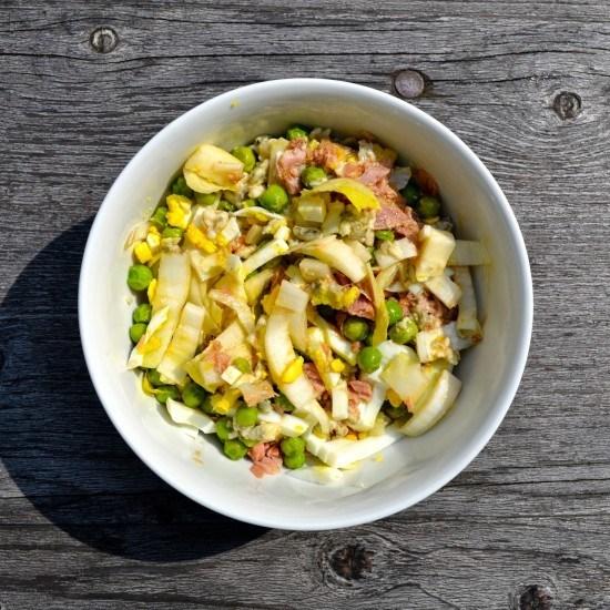 Rezept Chicoree-Salat mit Thunfisch