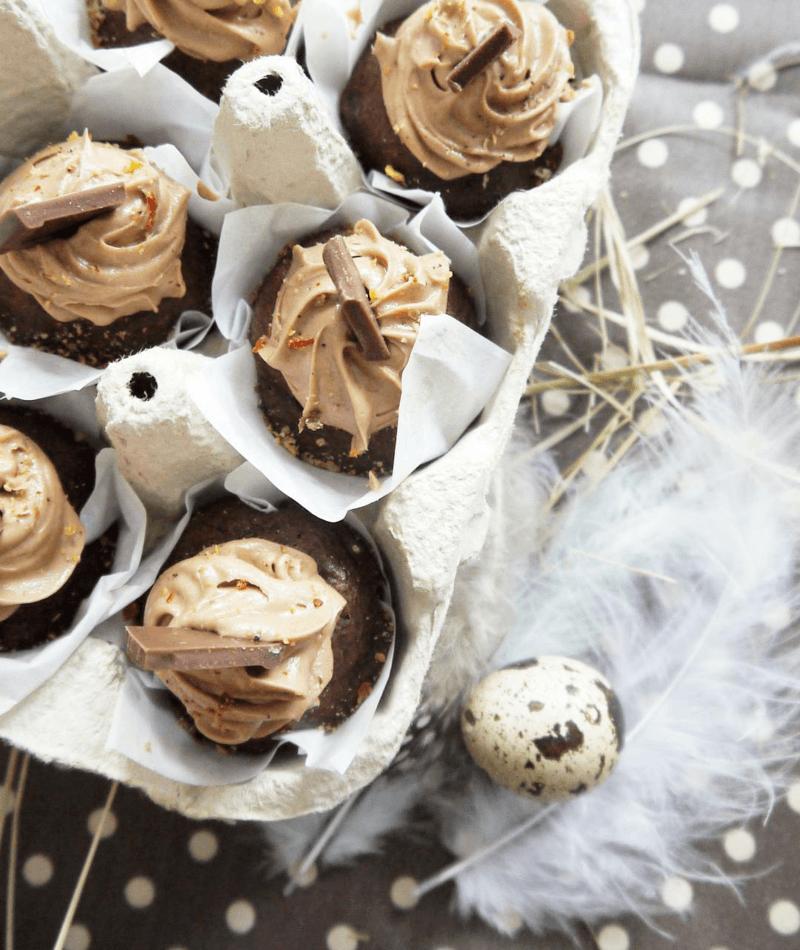 Rezept Chili-Banane Mini Cupcakes