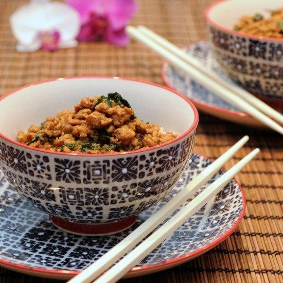 Rezept Chili-Hackfleisch mit Thai-Basilikum