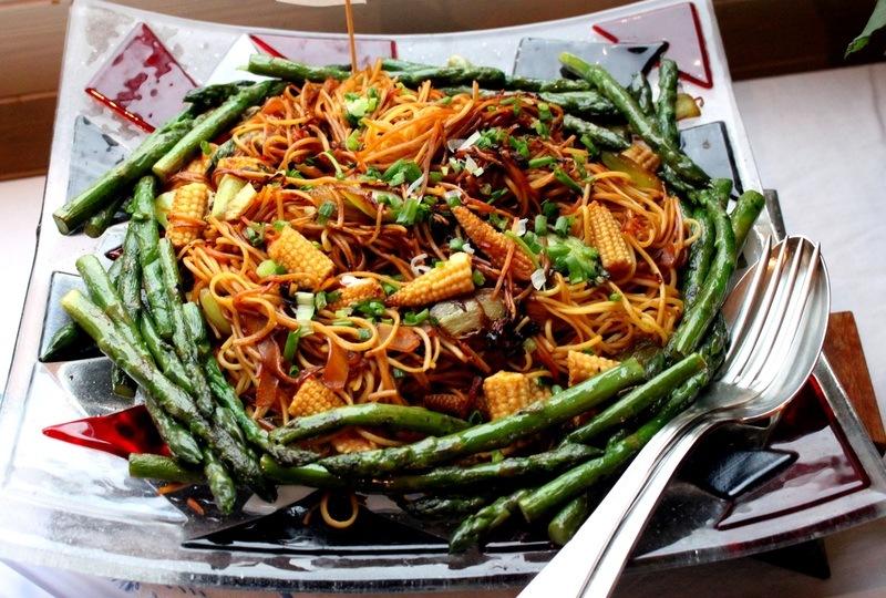 Rezept Chinesisch gebratene Nudeln