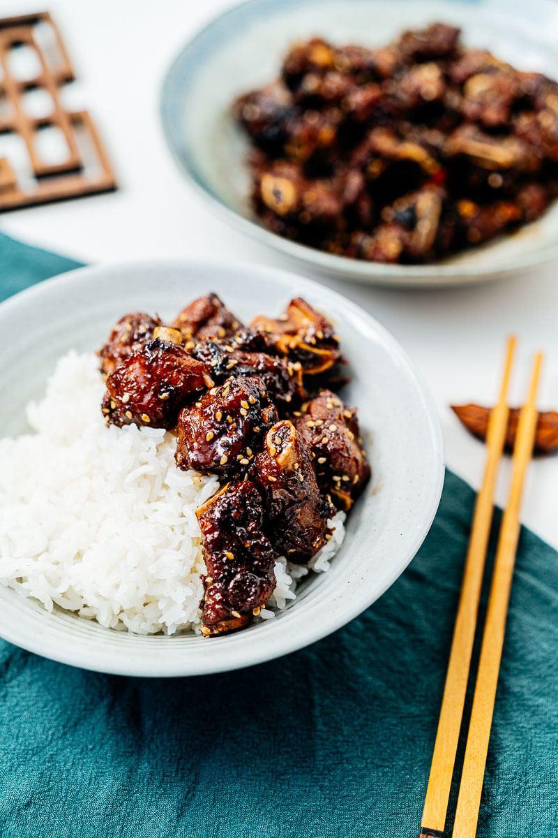 Rezept Chinesische Rippchen süß-sauer