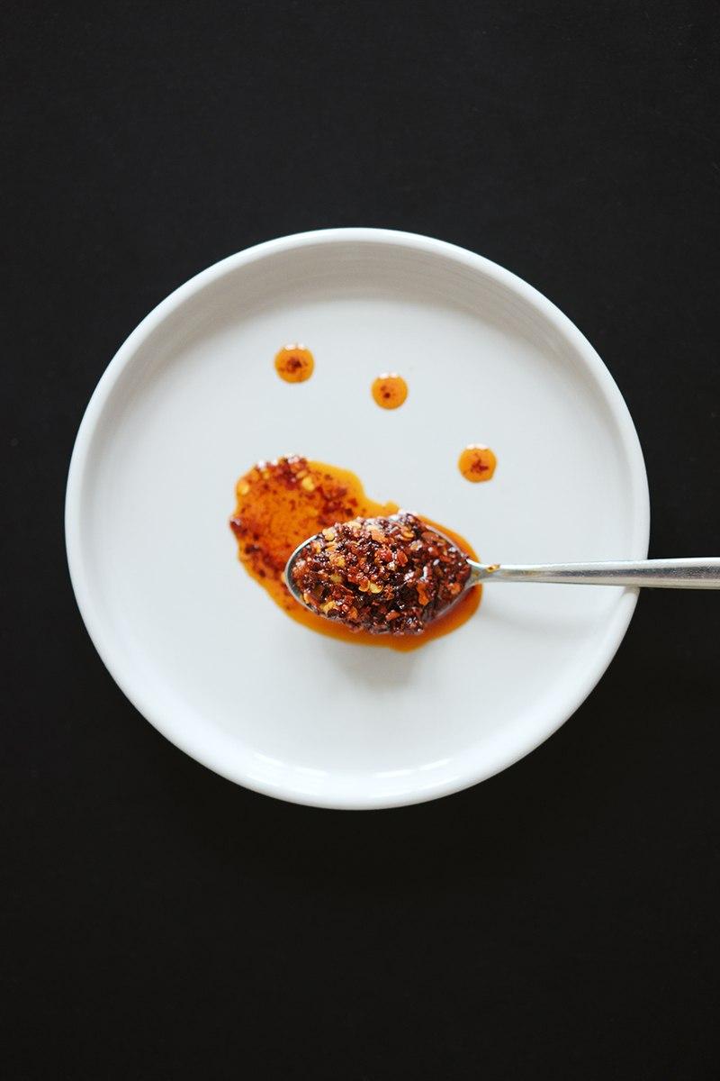 Rezept Chinesisches Chiliöl mit Szechuanpfeffer, Sternanis und Zimt