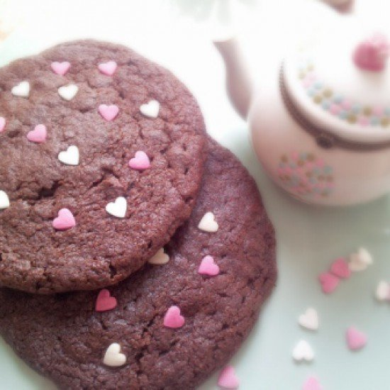 Rezept Chocolate Cheese Cookies