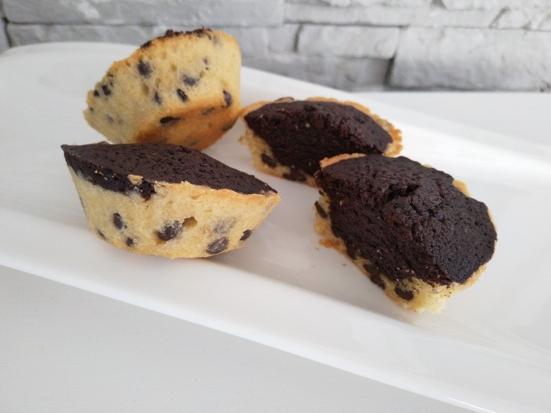 Rezept Chocolate Chip Brownie Muffins