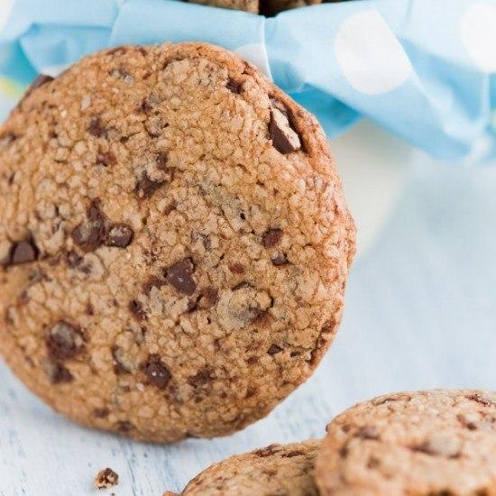 Rezept Chocolate Chip Cookies mit gebräunter Butter