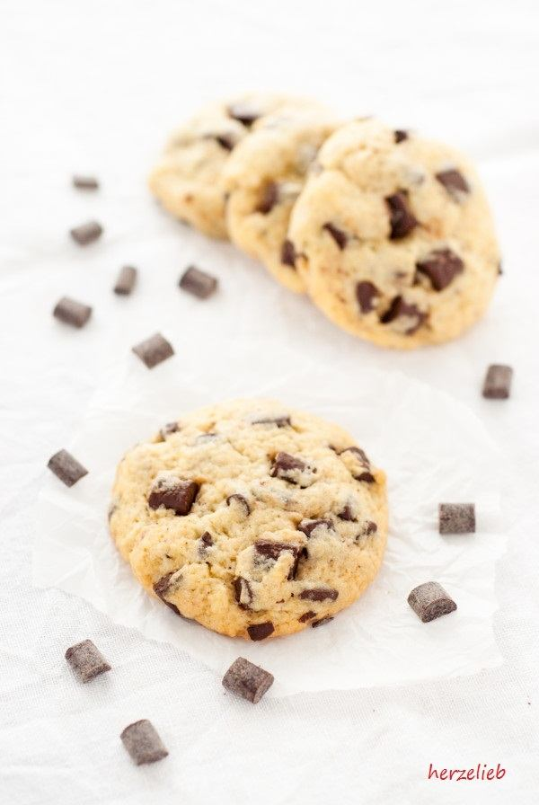 Rezept Chocolate Chip Cookies mit hartgekochten Ei