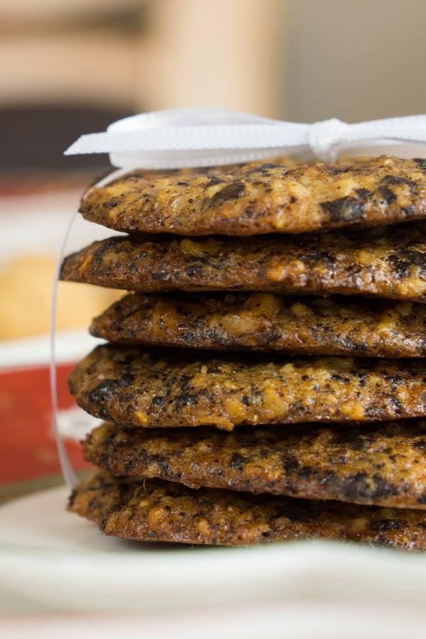 Rezept Chocolate Chip Cookies ohne Mehl & ohne Zucker