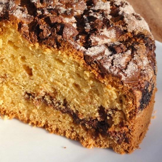 Rezept Chocolate Chip Sour Cream Coffee Cake