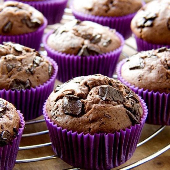Rezept Chocolate Chunk Muffins