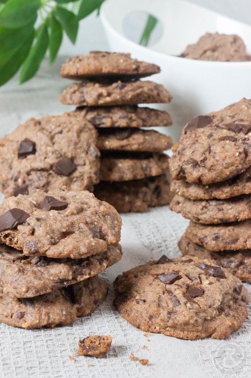 Rezept Chocolate Cookies