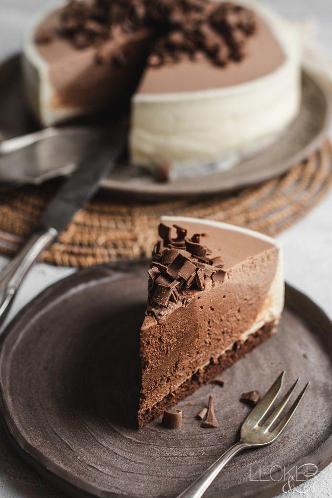 Rezept Chocolate Ombre Cheesecake
