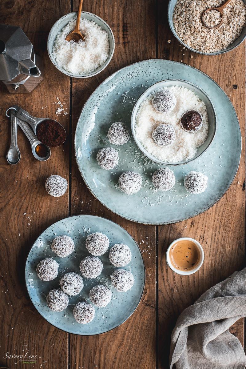Rezept Chokladbollar – Schwedische Schokoladenkugeln