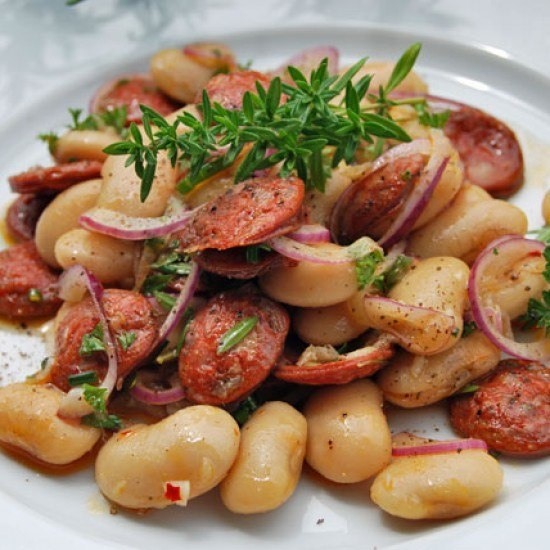 Rezept Chorizo-Bohnen-Salat