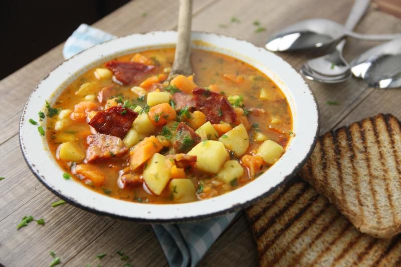 Rezept Chorizo Kartoffelsuppe
