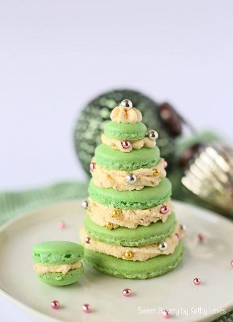 Rezept Christmas Macarons