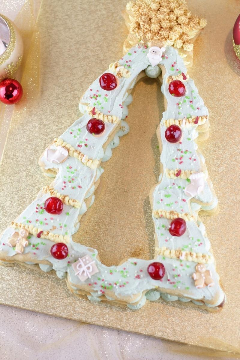 Rezept Christmas Tree Cake – Die weihnachtliche Variante vom Letter Cake