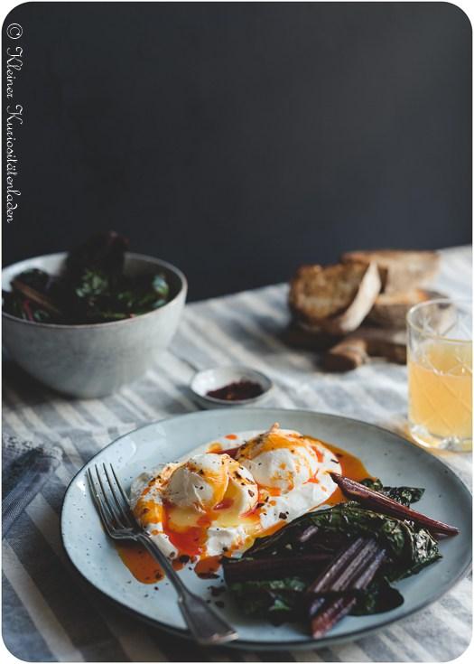 Rezept Çılbır ~ türkische pochierte Eier