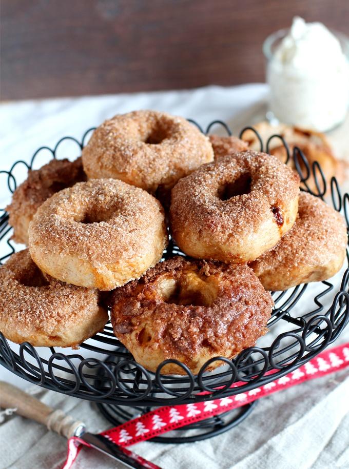 Rezept Cinnamon-Crunhc-Bagel mit Honig-Walnuss-Frischkäse