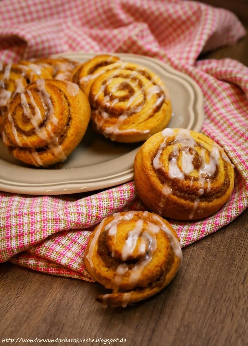 Rezept Cinnamon rolls - Zimtschnecken