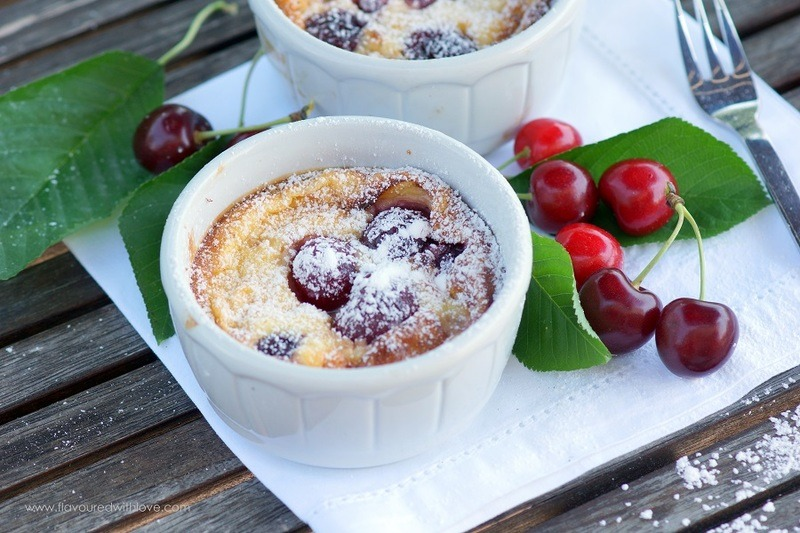 Rezept Clafoutis mit Kirschen
