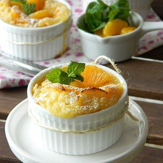 Rezept Clafoutis mit Mandarinen