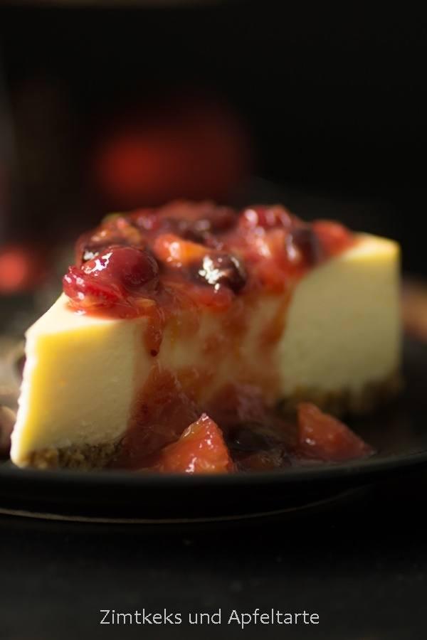 Rezept Classic New York Cheesecake - Winter Edition