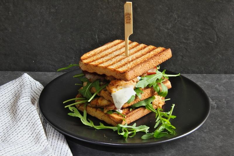 Rezept Club Sandwich mit Huhn