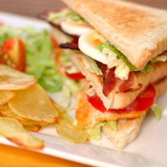Rezept Club-Sandwich