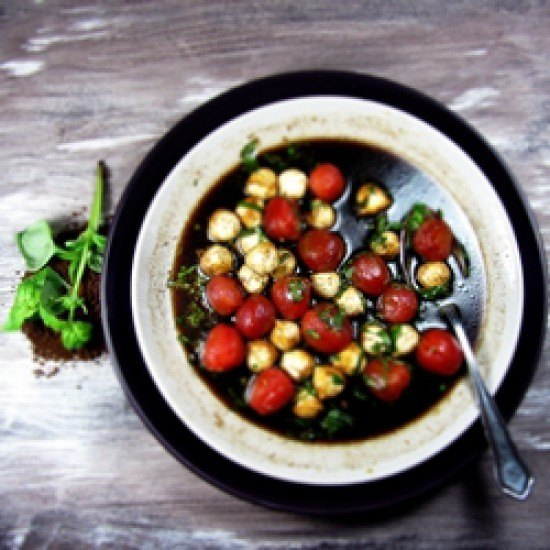 Rezept Coffe Caprese Salat