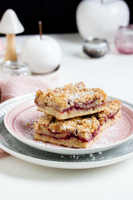 Rezept Coffee Cake mit Brombeeren oder ein schneller Brombeer-Streuselkuchen