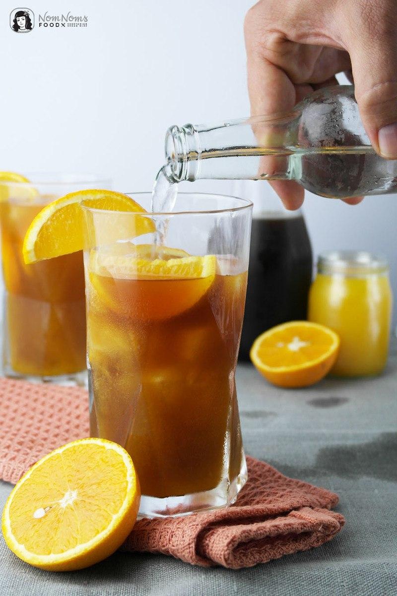 Rezept Cold Brew mit Orange und Tonic