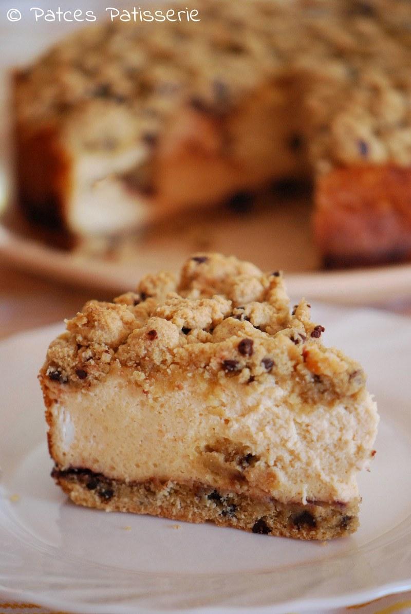 Rezept Cookie Dough Cheesecake