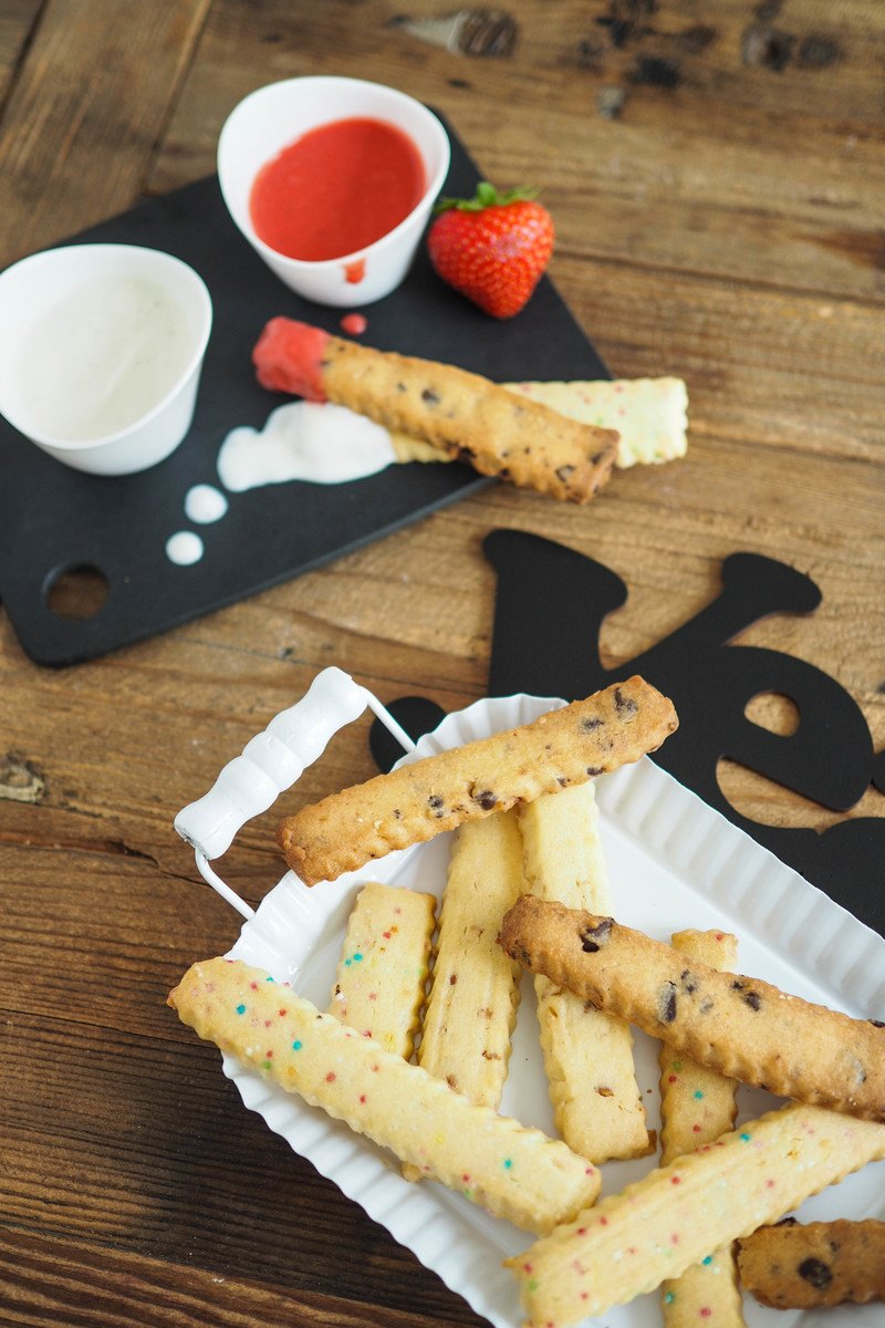 Rezept Cookie Fries - süße Kekspommes