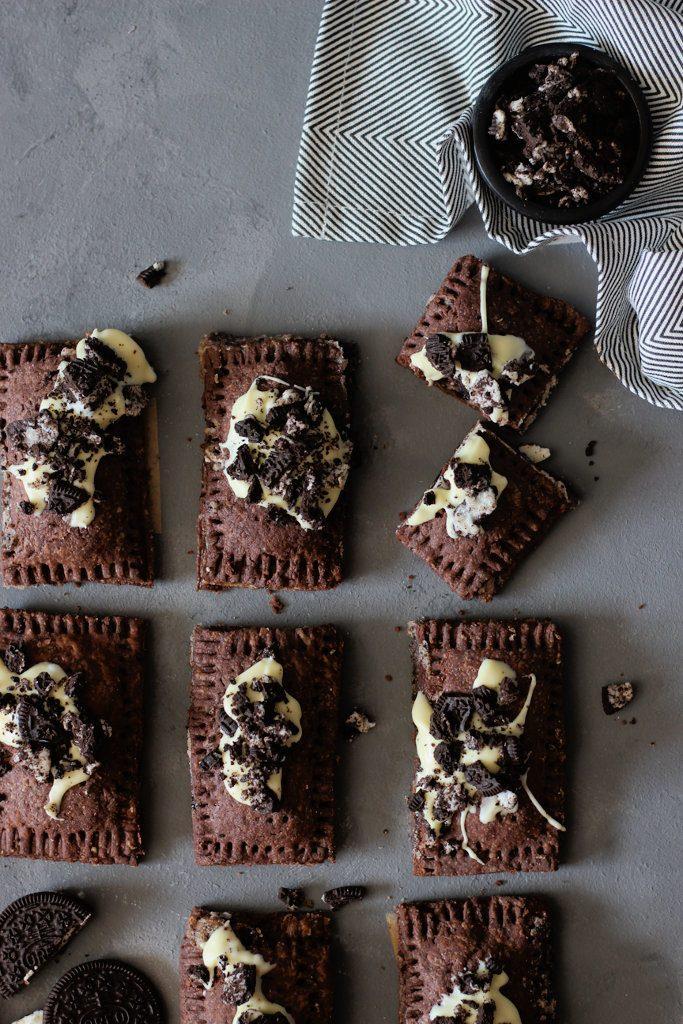 Rezept Cookies and Cream Pop-Tarts