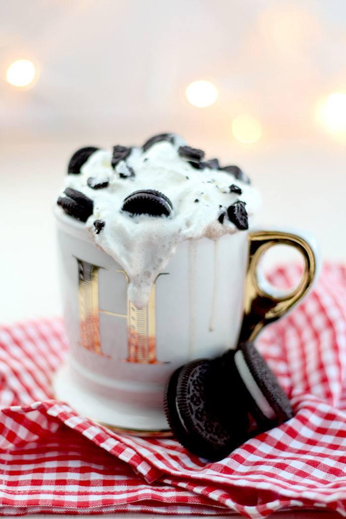 Rezept Cookies & Cream Hot Chocolate