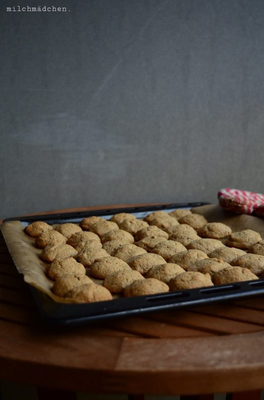 Rezept Cookies mit Sauerteig und Kaffee-Nussbutter
