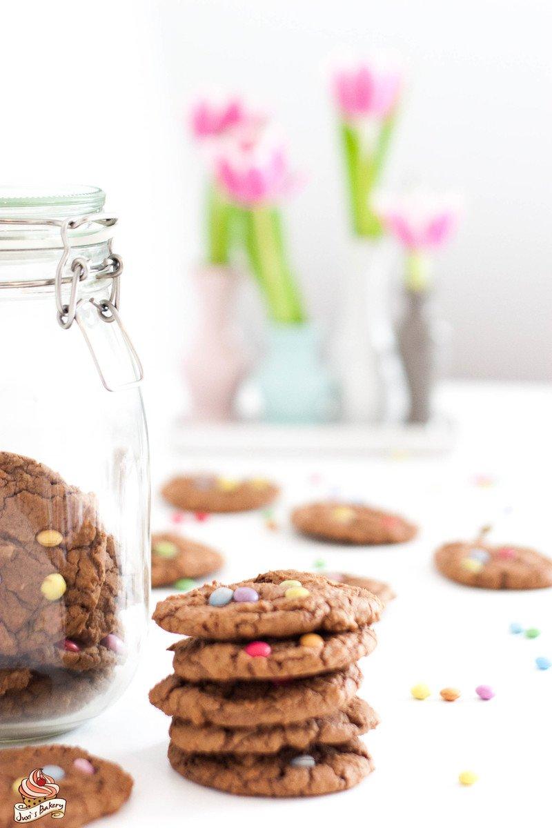 Rezept Cookies mit Smarties