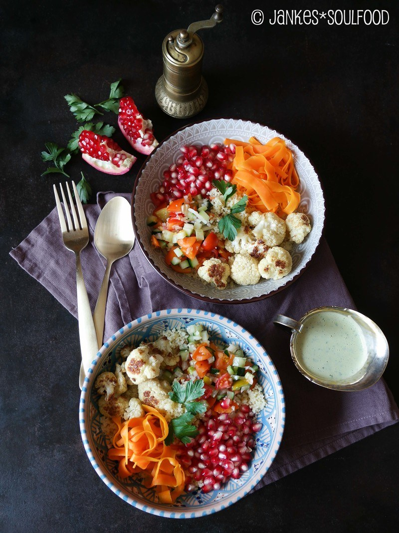 Rezept Couscous Bowl