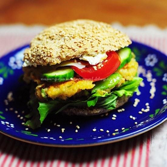 Rezept Couscous Burger