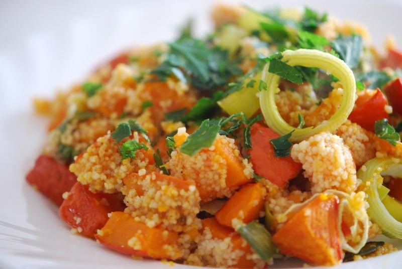 Rezept Couscous-Kürbis-Salat mit Ras El Hanout