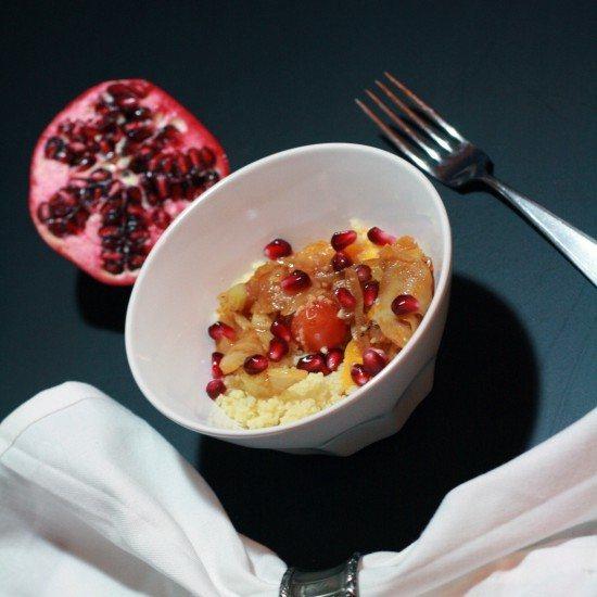 Rezept Couscous mit Fenchel und Granatapfel