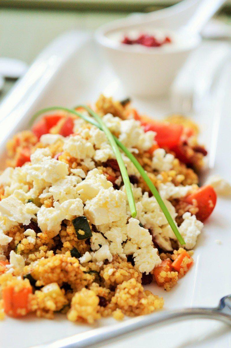 Rezept Couscous Salat mit frischer Joghurtsauce
