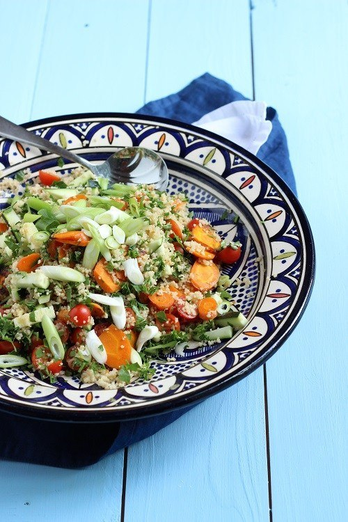 Rezept Couscoussalat mit Tomate und Zucchini