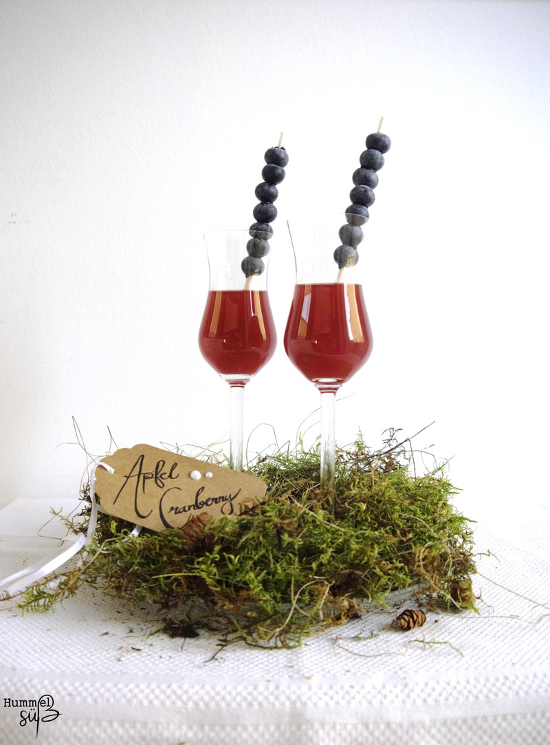 Rezept Cranberry-Apfel Likör, mit Zimt