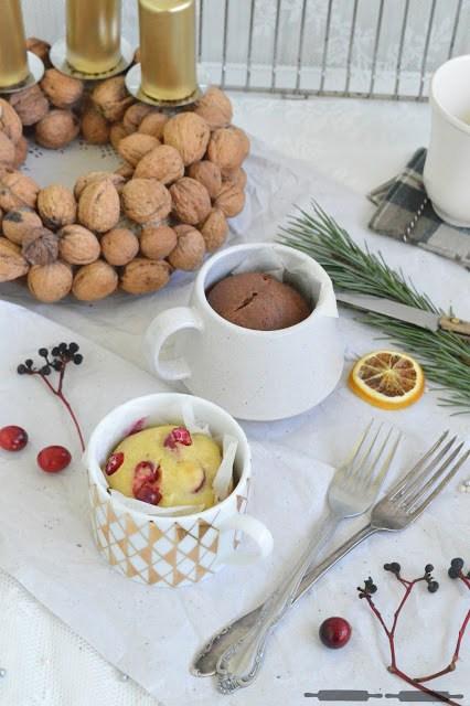 Rezept Cranberry Mug Cake