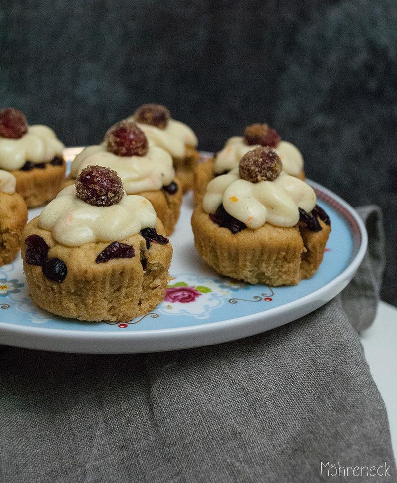 Rezept Cranberry-Orangen-Cupcakes