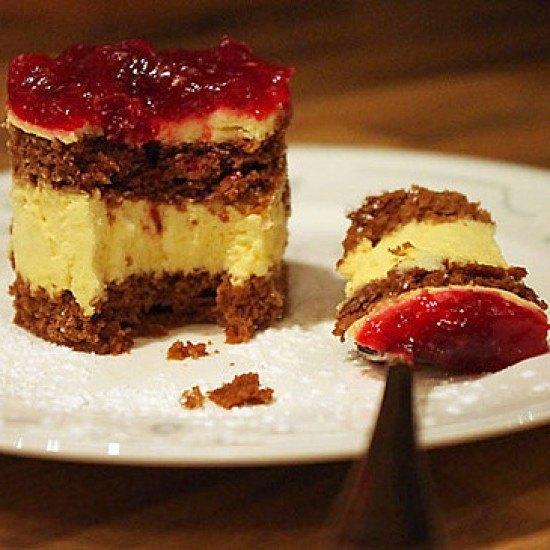 Rezept Cranberry-Zimtcreme-Törtchen