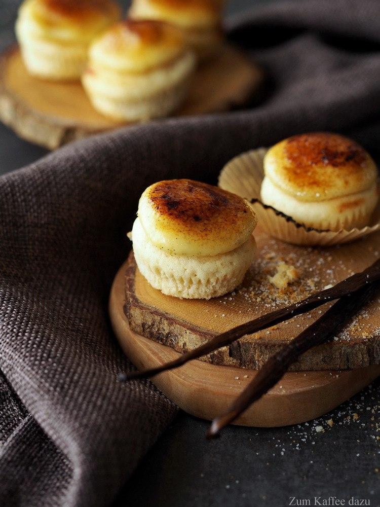 Rezept Crème Brûlée-Cupcakes