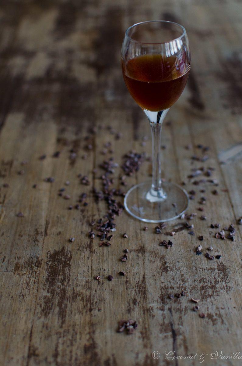 Rezept Creme de Cacao – Klarer Schokoladenlikör