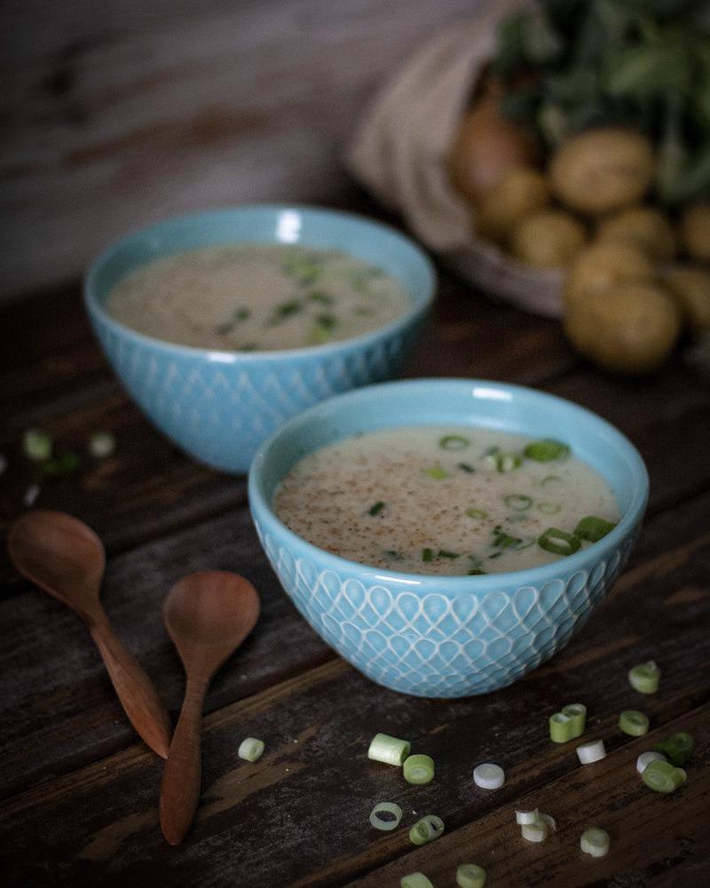 Rezept Cremige Blumenkohlsuppe – einfach & vegan